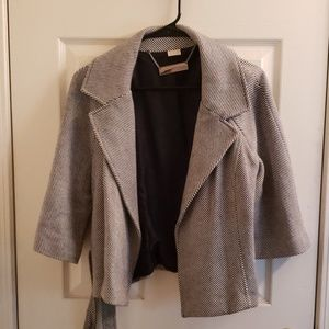 Michael Kors Women's Drape Overcoat Size Medium